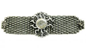bracelet-rtb2-blk-druzy-silver