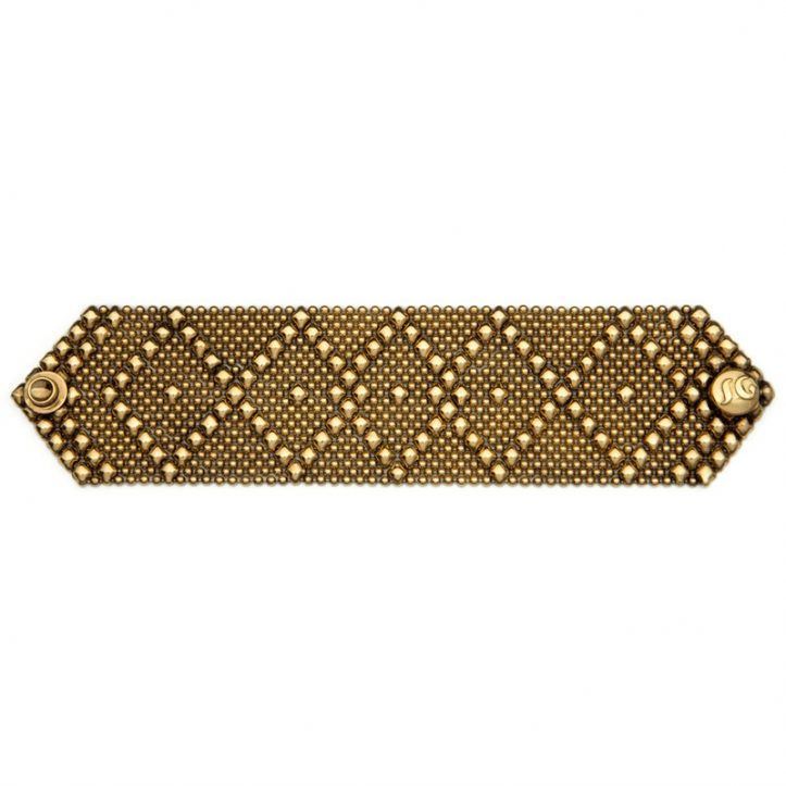 SG Liquid Metal Bracelet B10-AG by Sergio Gutierrez