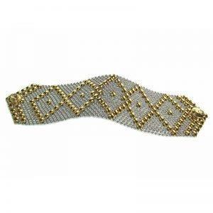 SG Liquid Metal Bracelet B10-SS-GOLD_01 by Sergio Gutierrez