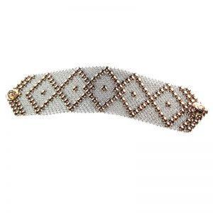 SG Liquid Metal Bracelet B10-SS-ROSE_01 by Sergio Gutierrez