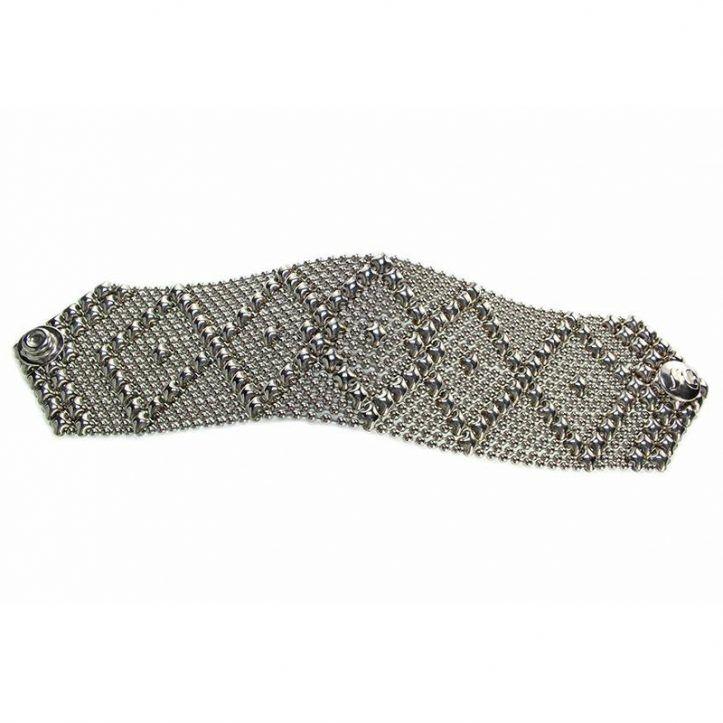 SG Liquid Metal Bracelet B10-SS_01 by Sergio Gutierrez