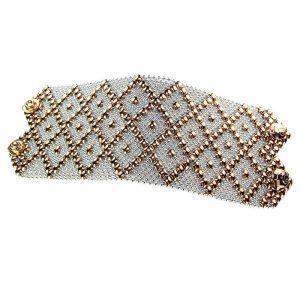 SG Liquid Metal Bracelet B26-SS-ROSE_01 by Sergio Gutierrez