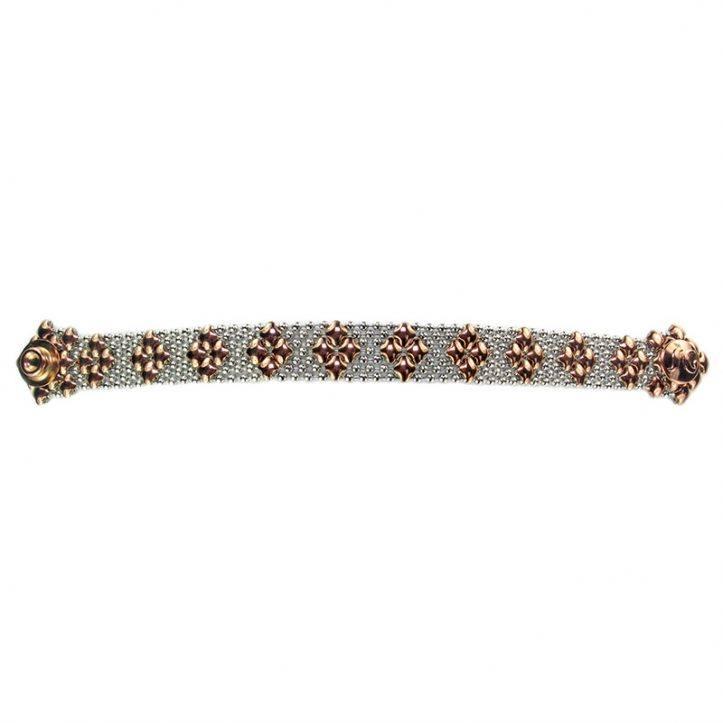 SG Liquid Metal Bracelet B35-SS-ROSE_01 by Sergio Gutierrez