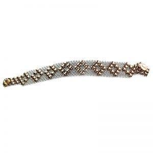 SG Liquid Metal Bracelet B4-SS-ROSE_01 by Sergio Gutierrez