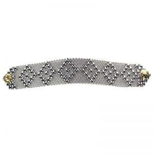 SG Liquid Metal Bracelet B9-SS_01 by Sergio Gutierrez
