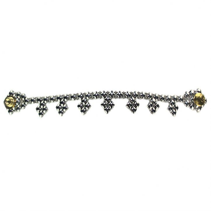 SG Liquid Metal Bracelet BK-SS_01 by Sergio Gutierrez
