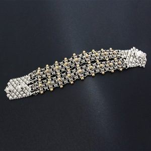 SG Liquid Metal Bracelet BX2-N by Sergio Gutierrez
