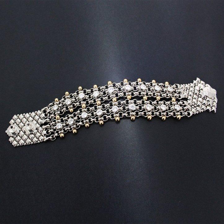 SG Liquid Metal Bracelet BX2Z-N by Sergio Gutierrez