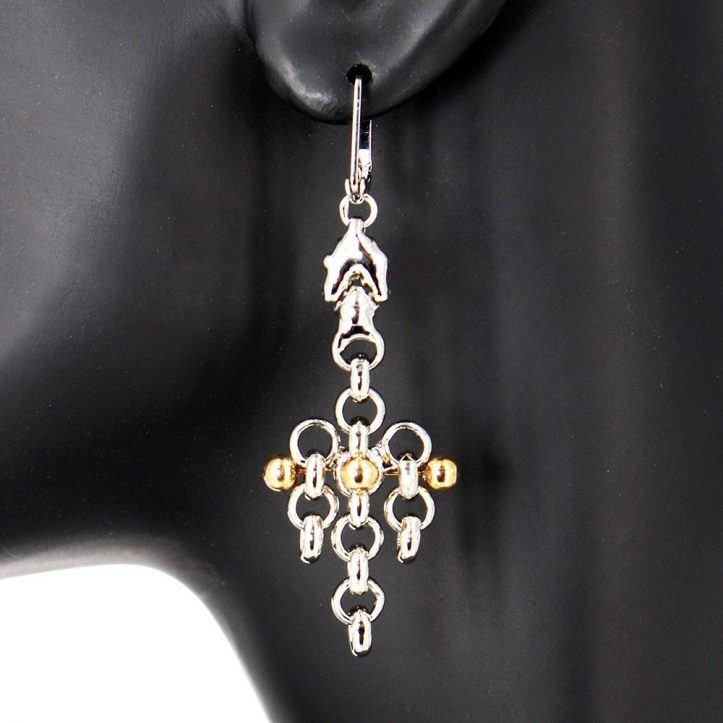 SG Liquid Metal BXE1-N Necklace By Sergio Gutierrez