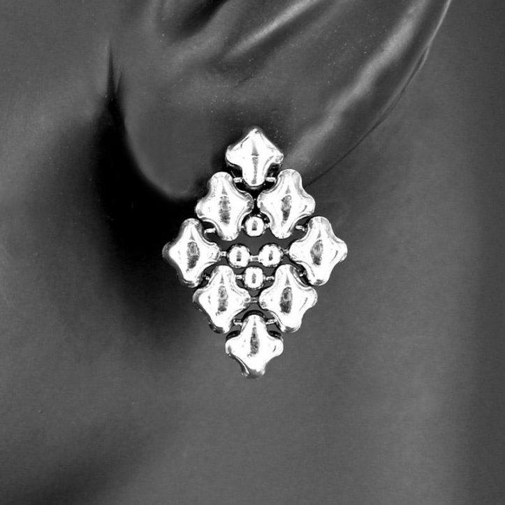 SG Liquid Metal Earrings E11-SS_01 by Sergio Gutierrez