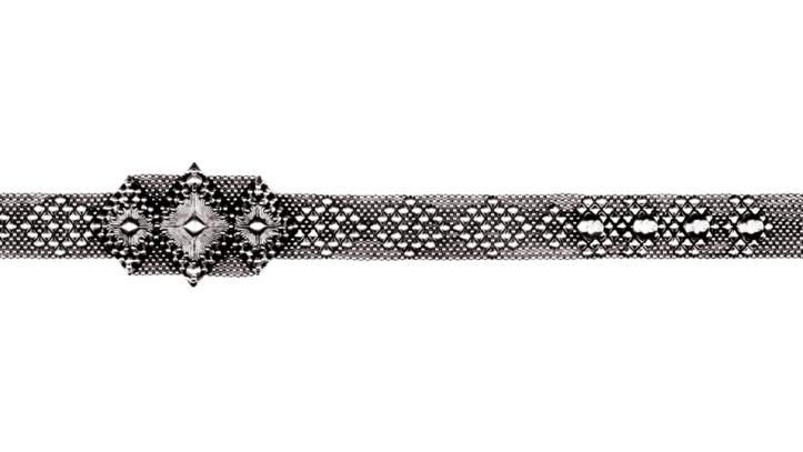 SG Liquid Metal Belt by Sergio Gutierrez