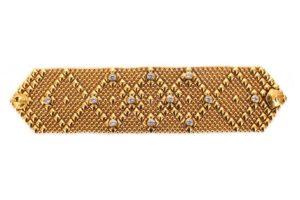 SG Liquid Metal Bracelet b-10z-ag by Sergio Gutierrez