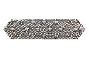 SG Liquid Metal Bracelet b-10z-as by Sergio Gutierrez