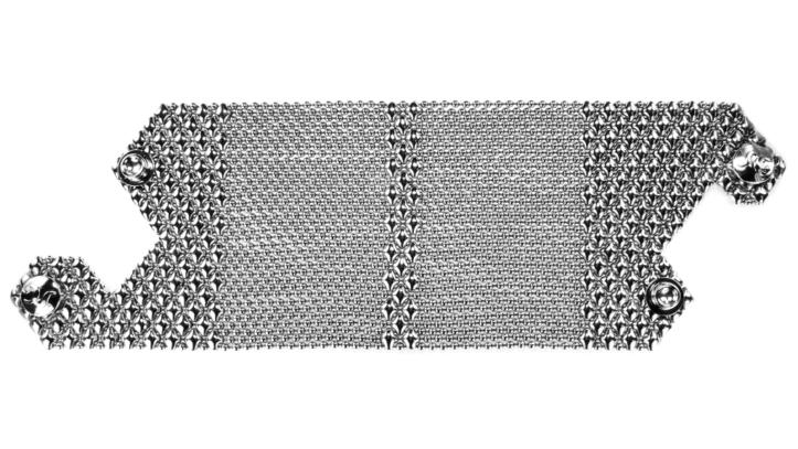 SG Liquid Metal Bracelet-b104 by Sergio Gutierrez