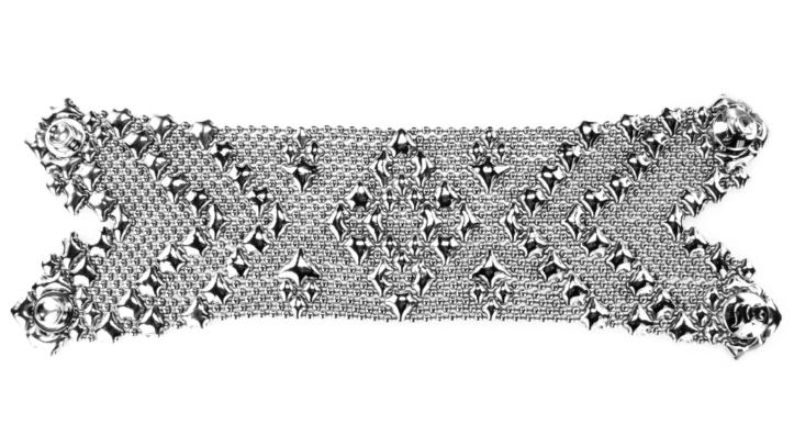 SG Liquid Metal Bracelet-b107 by Sergio Gutierrez