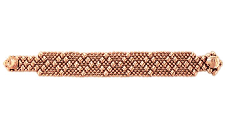SG Liquid Metal Bracelet-b4-rg by Sergio Gutierrez