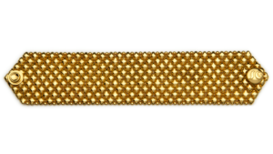 SG Liquid Metal Bracelet-b8-g24k by Sergio Gutierrez