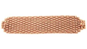 SG Liquid Metal Bracelet-bq2-rg by Sergio Gutierrez