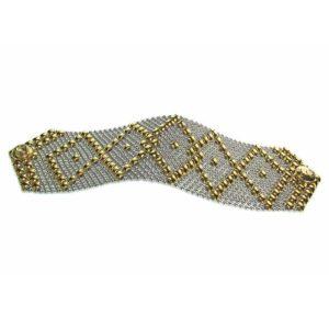 SG Liquid Metal Bracelet by Sergio Gutierrez B10-SS-GOLD_01