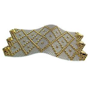 SG Liquid Metal Bracelet by Sergio Gutierrez B11-SS-GOLD_01