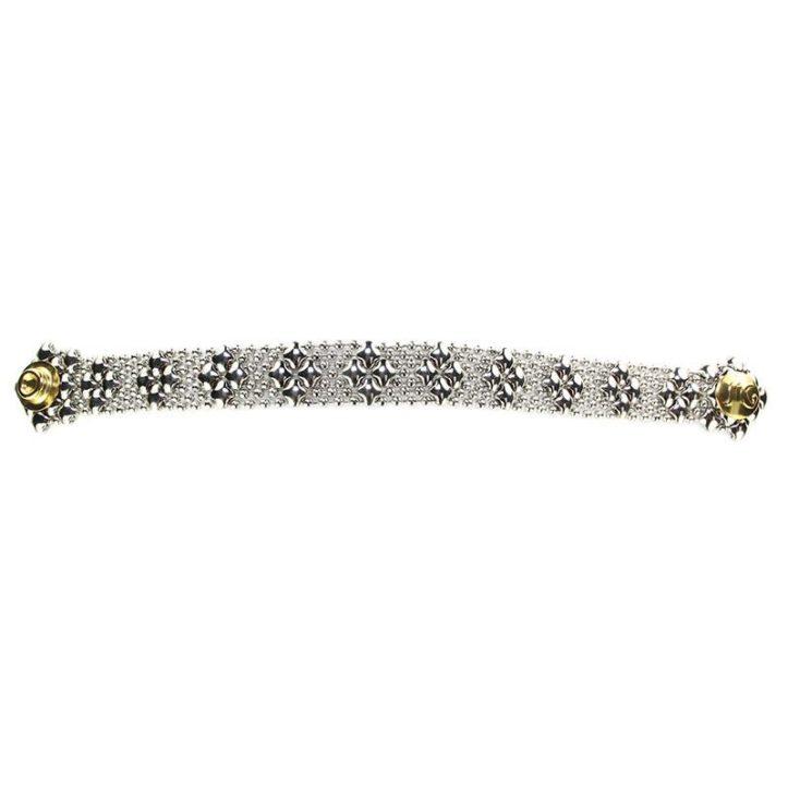 SG Liquid Metal Bracelet by Sergio Gutierrez B35-SS_01