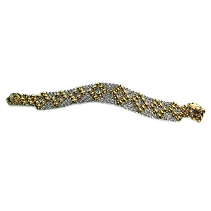 SG Liquid Metal Bracelet by Sergio Gutierrez B4-SS-GOLD_01