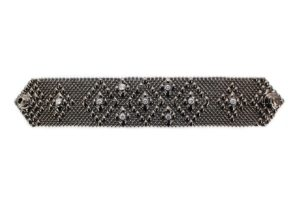 SG Liquid Metal Bracelet by Sergio gutierrez -tb32-z-blk