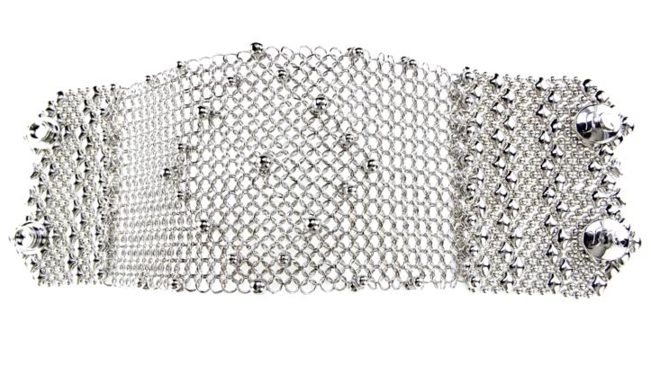 SG Liquid Metal Bracelet-cmb8_01 by Sergio Gutierrez