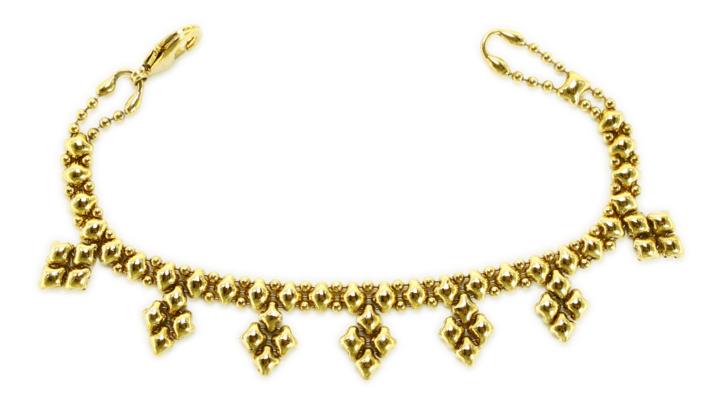 SG Liquid Metal Bracelet-mini-k-ag by Sergio Gutierrez