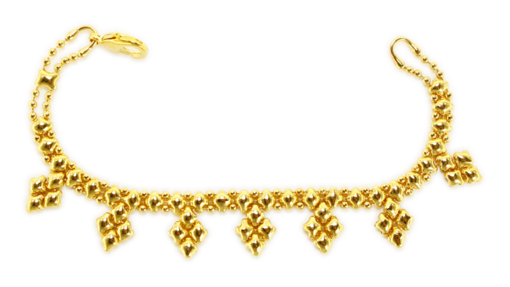 SG Liquid Metal Bracelet-mini-k-g24k by Sergio Gutierrez