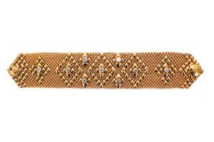 SG Liquid Metal Bracelet tb-32z-ag-1500 by Sergio Gutierrez