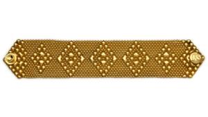 SG Liquid Metal Bracelet-tb32-g24k by Sergio Gutierrez