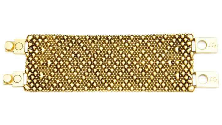 SG Liquid Metal Bracelet-tb40-ag-01 by Sergio Gutierrez
