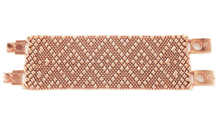 SG Liquid Metal Bracelet-tb40-rg by Sergio Gutierrez