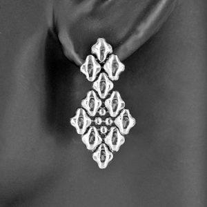 SG Liquid Metal Earrings by Sergio Gutierrez E2-SS_01