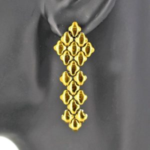 SG Liquid Metal Earrings by Sergio Gutierrez E3-SS-GOLD_01