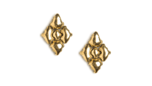 SG Liquid Metal Earrings-e34-ag by Sergio Gutierrez