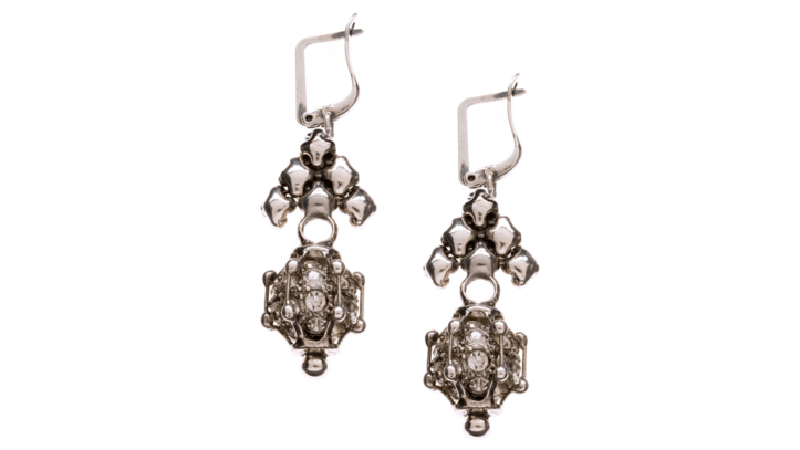 SG Liquid Metal Earrings-rte6 by Sergio Gutierrez