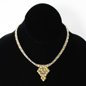 SG Liquid Metal Necklace by Sergio Gutierrez NG-SS-GOLD_01