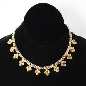 SG Liquid Metal Necklace by Sergio Gutierrez NJ-SS-GOLD_01
