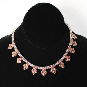 SG Liquid Metal Necklace by Sergio Gutierrez NJ-SS-ROSE_01