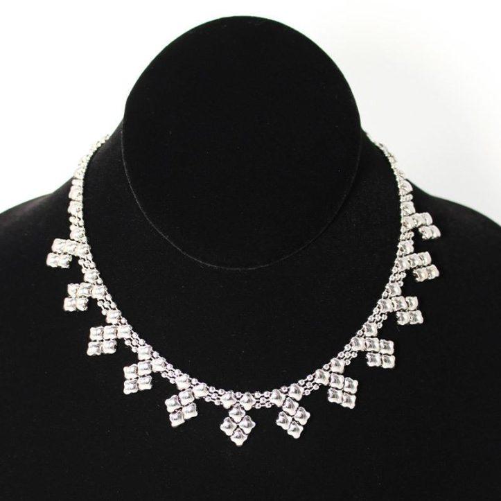 SG Liquid Metal Necklace by Sergio Gutierrez NJ-SS_01