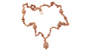 SG Liquid Metal Necklace-ch2-rg by Sergio Gutierrez