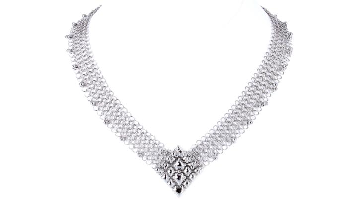 SG Liquid Metal Necklace cm_neck_1 by Sergio Gutierrez