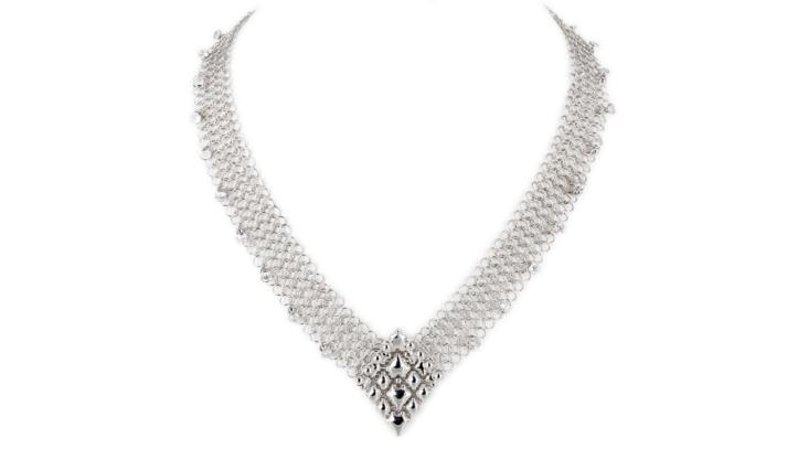 SG Liquid Metal Necklace cm_neck_1z by Sergio Gutierrez