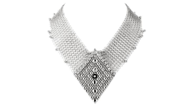 SG Liquid Metal Necklace cm_neck_2 by Sergio Gutierrez