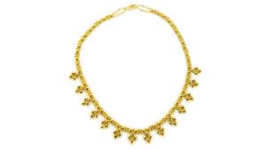 SG Liquid Metal Necklace-mini-j-g24k by Sergio Gutierrez