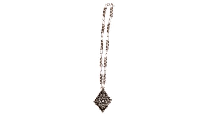SG Liquid Metal Necklace-xcr7-a-1 by Sergio Gutierrez