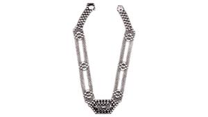 SG Liquid Metal Necklace by Sergio Gutierrez