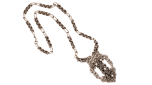 SG Liquid Metal Necklace-xn6-a by Sergio Gutierrez